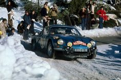 Alpine Renault A110 1600s Monte Carlo Rally car #28 Ove Andersson 1971