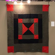 The stunning Welsh quilts were for me a huge highlight of the exhibits on display at Pour L'amour Du Fill. My grandmother was Welsh, and these quilts touch my heart with so much tenderness and love. And the quilting! 😍😍oh, the Quilting makes me swoon! Enjoy!! #welshquilts #lovethesequilts #antiquequiltsarethebest #antiquewelshquilts #quaint