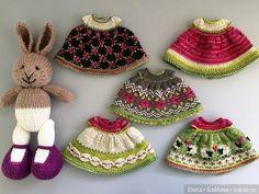 Жаккард для кукольной одежды / Вязание для кукол / Бэйбики. Куклы фото. Одежда для кукол