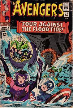 Avengers 27 April 1966 Issue  Marvel Comics  Grade G/VG