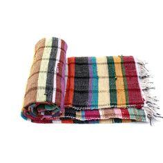 Handloomed Rag Rug Yoga Mat Handmade Saree Chindi Carpet Rectangular Durrie Y803 #JodhpurRugs #RagRug