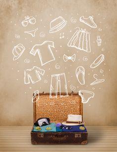 Armar las #maletas es sinónimo de #vacaciones. Hazlo con #Despegar