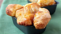 Celebrate the flavors of autumn in this sure-to-please version of monkey bread. Try it with ice cream for dessert!