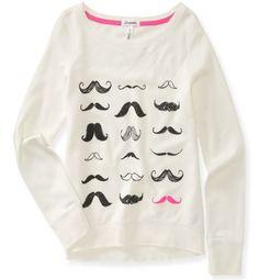 Mustache sweater :) Ya lo tengo :3