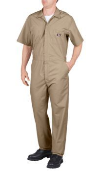 Short Sleeve Coverall | Mens Coveralls | Dickies.com