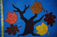 5 Little Leaves Flannel Board Felt Board Story