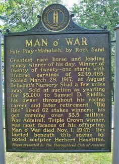 man o war was burried at Fairway Farms, Lexington, Ky. Later moved to Kentucky Horse Park. So want to see this place Kentucky Horse Farms, Louisville Kentucky, Kentucky Derby, Lexington Park, Thoroughbred Horse, Dressage, Run For The Roses, My Old Kentucky Home, Racehorse