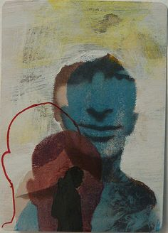 evey in orbit ~ steven atc, 2011 (mixed media)