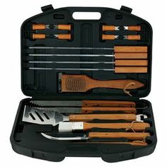 19-Piece Deluxe Grilling Tool Set