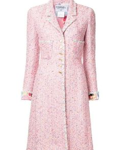 Regilla (@_regilla_) Chanel Fashion, Tweed, Dresses With Sleeves, Couture, Long Sleeve, Spring, Haute Couture, High Fashion, Full Sleeves