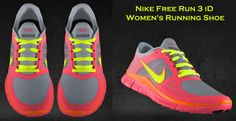 My design Nike Free Run 3 shoes. Love 'em :) nice website for 59% off nikes ,$49 for nike free