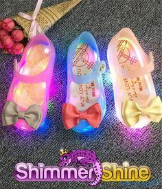 Princess Jelly Shoes