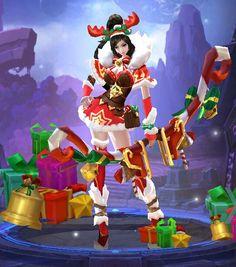 UPDATED: Miya Christmas Cheer Skin Owned by ig: Marquisea