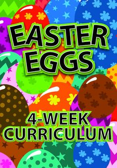 Easter Curriculum for Kids Church http://www.childrens-ministry-deals.com/products/easter-eggs-4-week-easter-curriculum-for-kids