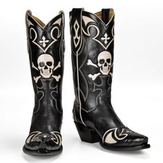 Skull Boots | Shoes Shoes Shoes! | Pinterest