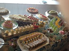 Sweets buffet for all the guest
