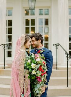 Couples with different cultures and traditions are getting married everyday. so what does that mean for your wedding day? This gorgeous shoot is here to help! Photography Blogs, Henna Artist, Photo Layouts, Bridesmaid Dresses, Wedding Dresses, Intimate Weddings, Mansion, Getting Married, Female Models