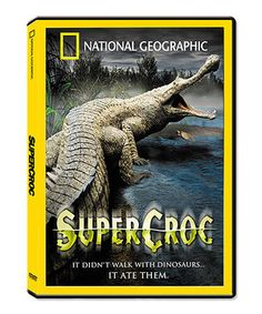 This Super Croc DVD by National Geographic is perfect! #zulilyfinds