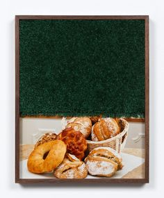 303 Gallery - Elad Lassry Vancouver Art Gallery, Kitchen New York, Offset Printing, Walker Art, Challah, Cookware Set, Vintage Pictures, Painting Frames, Bagel