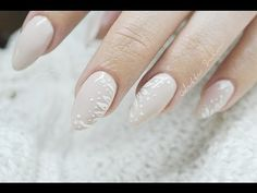 Wedding Nails! |Delikatne zdobienie na ślub i nie tylko! | Efekt Szronu | Odette Swan - YouTube
