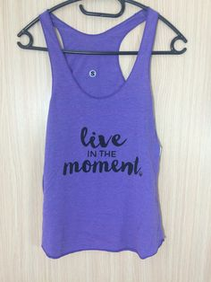 LIVE IN THE MOMENT - Yoga Tank Top Yoga Tank Tops, In This Moment, Live, T Shirt, Collection, Women, Fashion, Woman, Tee