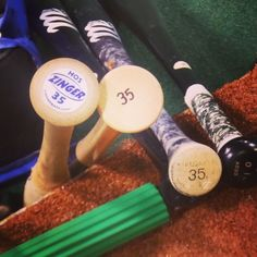 Eric Hosmer's tools of the trade. #Royals