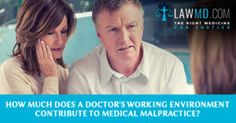 How Much Does a #Doctor's Working Environment Contribute to #MedicalMalpractice?