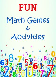 1656 Best Math Activities And Games For Kids Images In 2019 Math