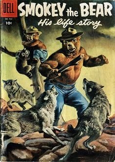 Smokey the Bear: His Life Story. Random fact- this story spawned my desire to write when I was little.