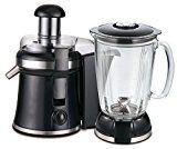 2in1 Glas Standmixer 800 Watt 1,5 L.Smoothie Maker Ice Crusher + Saftpresse Entsafter