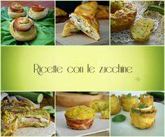 Speciale ricette con le zucchine. Tante ricette semplici e gustose da stampare e conservare per averle sempre a portata di mano.