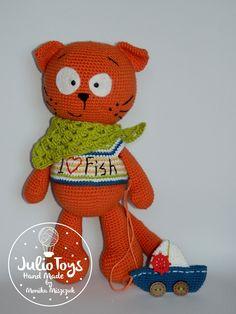 crochet cat PDF pattern