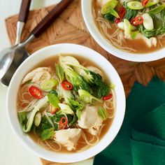 This Vietnamese soup is a herby, spicy mix of Asian flavours. A delightfully balanced meal.