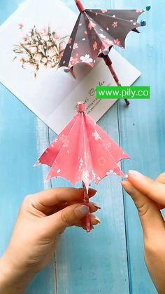 origami Diy Crafts Hacks, Diy Crafts For Gifts, Diy Home Crafts, Diy Arts And Crafts, Creative Crafts, Cool Paper Crafts, Paper Crafts Origami, Instruções Origami, Origami Videos