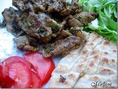 Kebab d' agneau à la plancha, finalement le bonheur c' est tout simple...