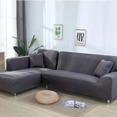 Forget expensive reupholstery and cover your old sofas furniture with our fitted Sofa Covers, Couch Covers and Sofa Slipcovers. Our readymade stretch sofa covers are suitable for almost all types o. Corner Sofa Covers, Couch Covers, Corner Couch, Pillow Covers, Xxl Sofa, Clean Couch, Types Of Sofas, L Shaped Sofa, Dust Mites