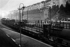 Berlin 1936 Neukoelln-Mittenwalder Eisenbahn (Das flinke Hermaennche) Rangierbetrieb in Hoehe S-Bahnhof Hermannstrasse