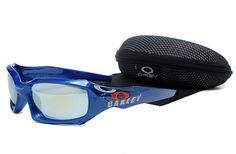 $10.99 Daily Deal Oakley MONSTER DOG Sunglasses Blue Frame Blue Lens www.sportsdealextreme.com