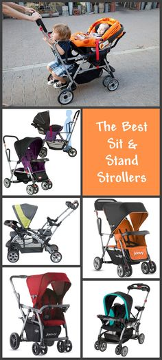 The best sit and stand strollers - I like this as an alternative to a more unwieldy double stroller.