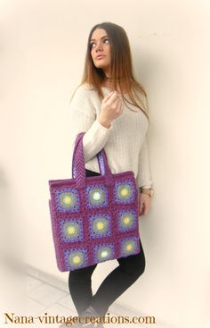 Handmade vintage bag (No 006)