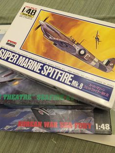 Modal Airplane Kits  Set of 3  NIB British by PineStreetPickers