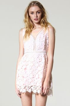 Oh My Muse Lace Dress Discover the latest fashion trends online at storets.com