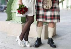 Photo from Anna & Charles' intimate vegan ice skating wedding
