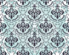 Damask seamless vector pattern.For easy making seamless pattern just drag all group into swatches bar, and use it for filling any
