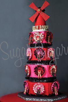 Moulin Rouge by Sugar Sugar Cake Studio (Photo Credit: RGP)
