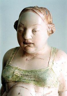 by Gundi Dietz....figurative porcelain sculpture