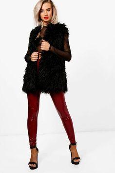 Laura Mongolian Faux Fur Gilet Faux Fur Gilet, Winter Jackets Women, Coats  For Women. Boohoo ANZ 225462f625