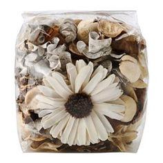 IKEA - DOFTA, Tuoksusekoitus, Vaniljajäätelön ja tuoreiden vohveleiden makea tuoksu.Kaunis esim. maljakossa tai kulhossa. Tuoksuu miellyttävälle.