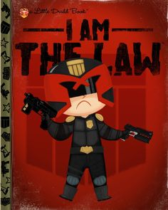 "Joey Spiotto ""I Am The Law"" Print"