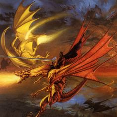 Dragonlance: The Legend of Huma - The artwork that inspired me to read. A lot.